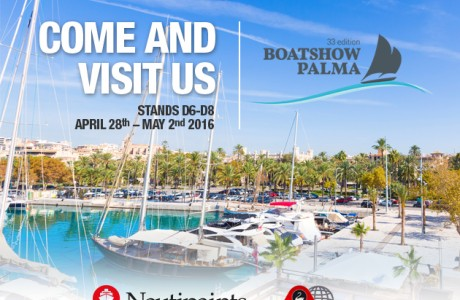 Nautipaints - Chandlery at 33rd Palma Boat Show -